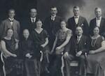 Familien Juel på Lindum ca 1920