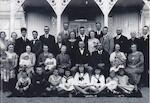 Familien Juel og Bastiansen før avreise til Amerika 1925