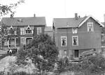 Kafèvert Jensens hus - Glassplatebilde fra eske nr. 7